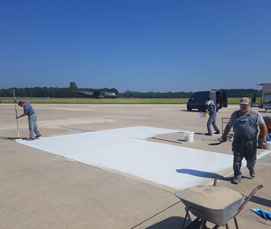 Flugplatz Sanierung