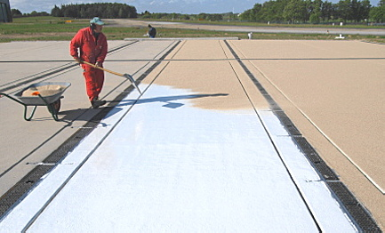 Coating of Air Traffic Surfaces